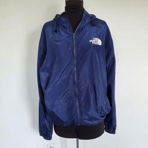 North Face Supreme Blue Windbreaker Jacket XXL